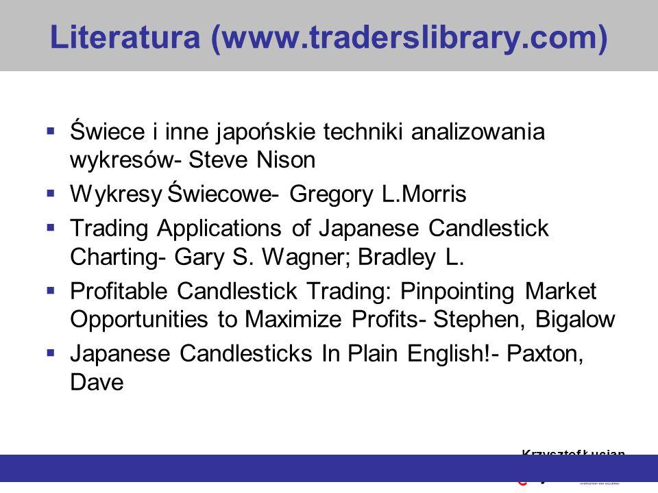 Literatura (www.traderslibrary.com)