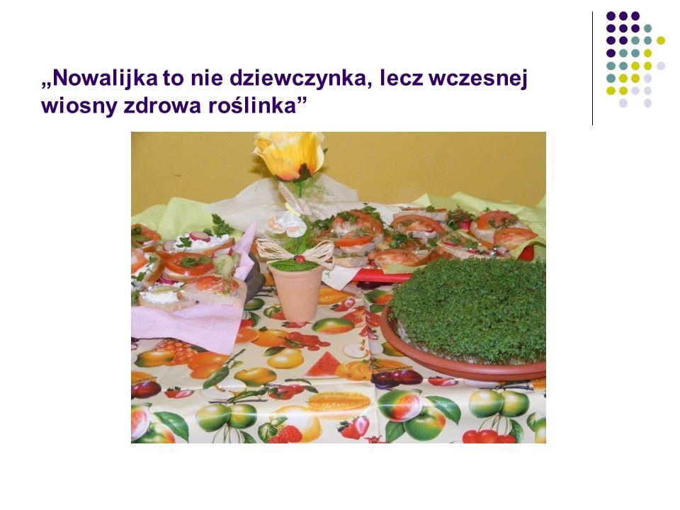 """""""Nowalijka to nie dziewczynka, lecz wczesnej wiosny zdrowa roślinka"""