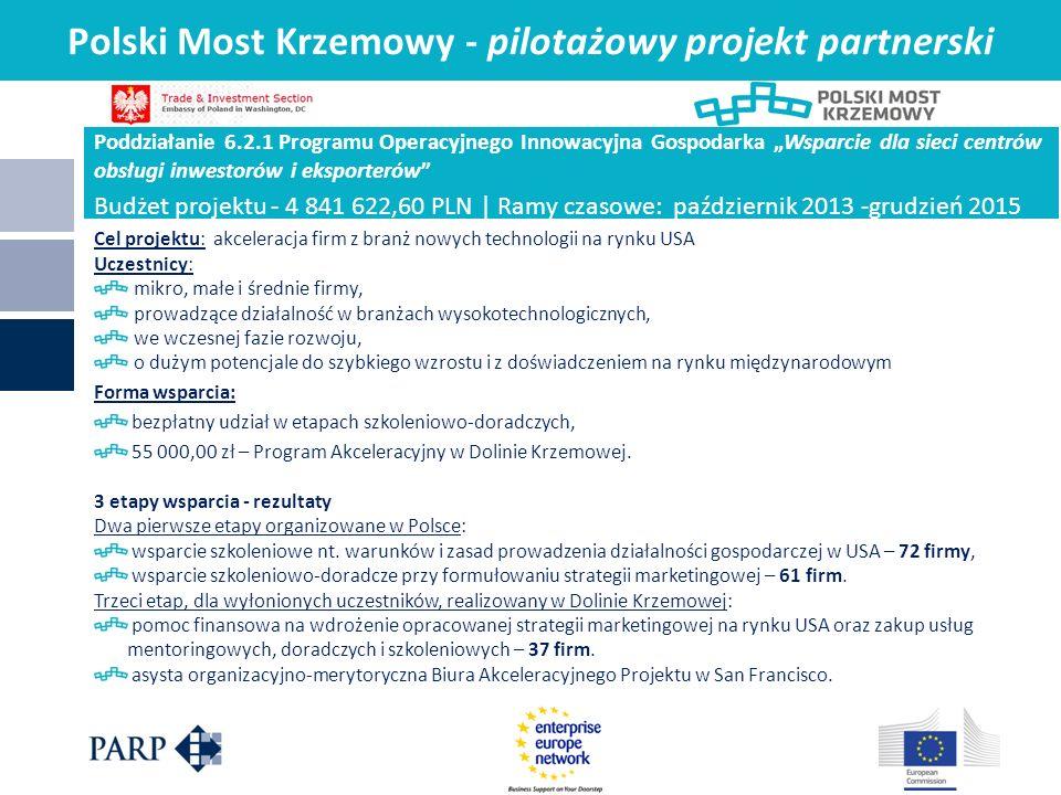 Polski Most Krzemowy - pilotażowy projekt partnerski