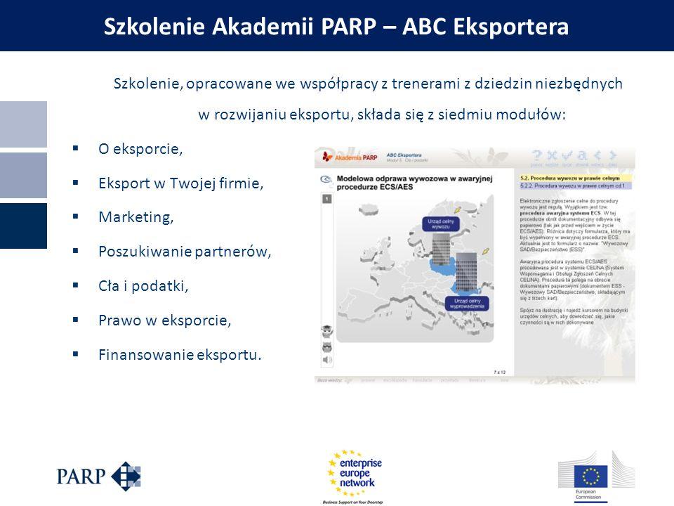 Szkolenie Akademii PARP – ABC Eksportera