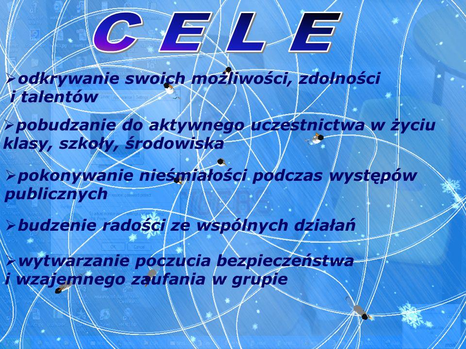 C E L E odkrywanie swoich możliwości, zdolności i talentów