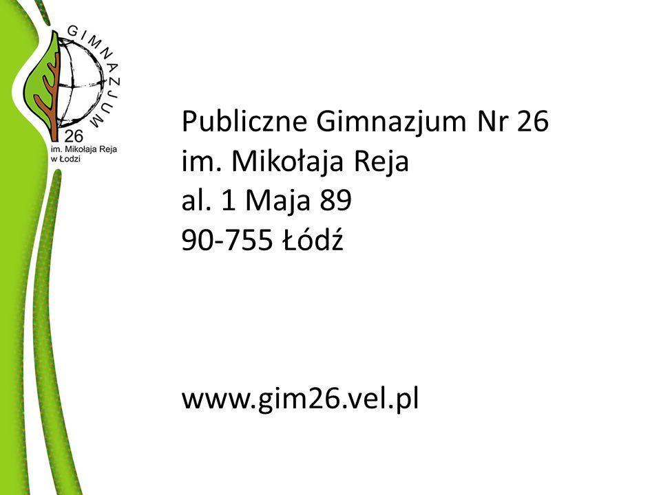 Publiczne Gimnazjum Nr 26
