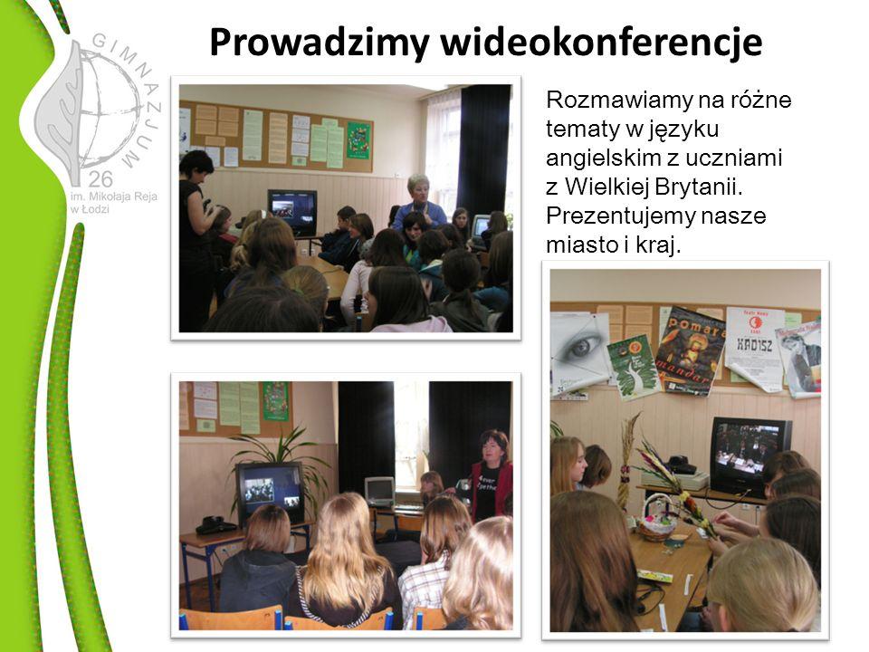Prowadzimy wideokonferencje