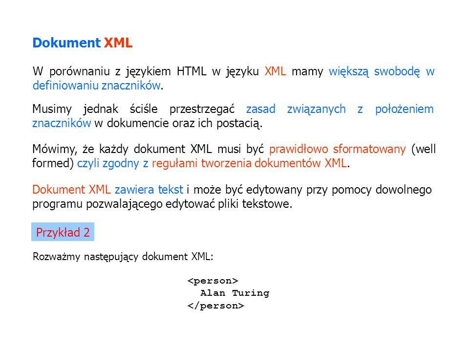 Rozważmy następujący dokument XML: