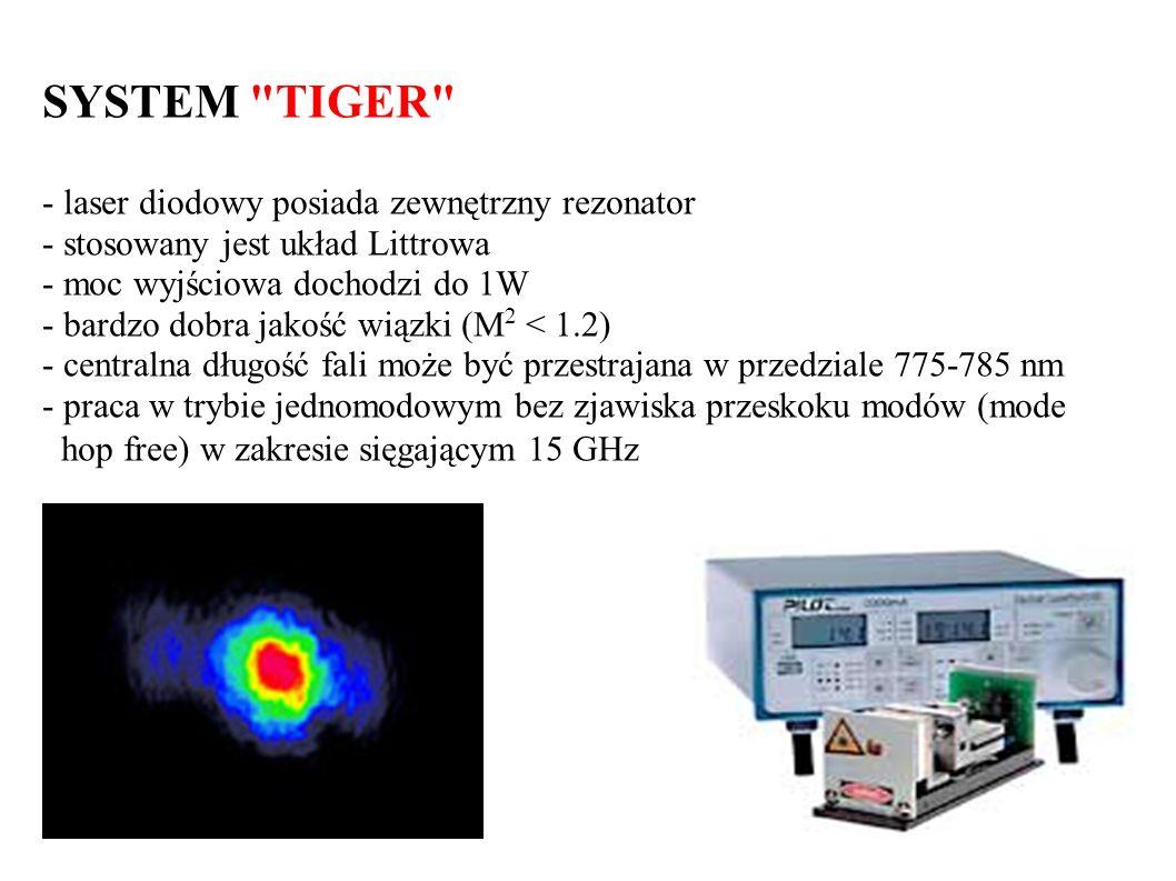 SYSTEM TIGER hop free) w zakresie sięgającym 15 GHz