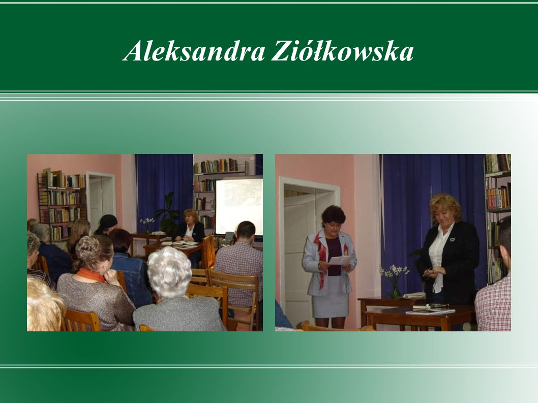 Aleksandra Ziółkowska