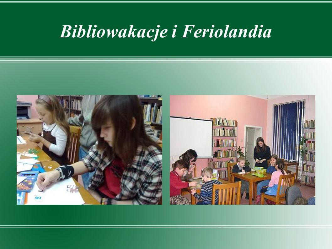 Bibliowakacje i Feriolandia