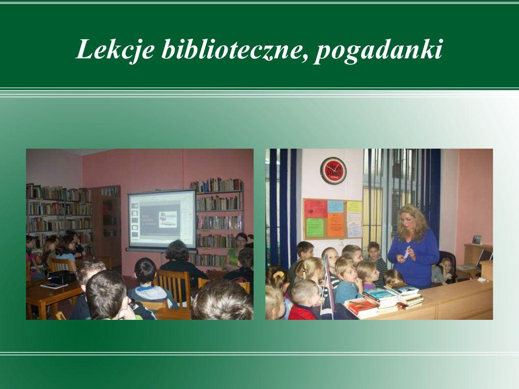 Lekcje biblioteczne, pogadanki