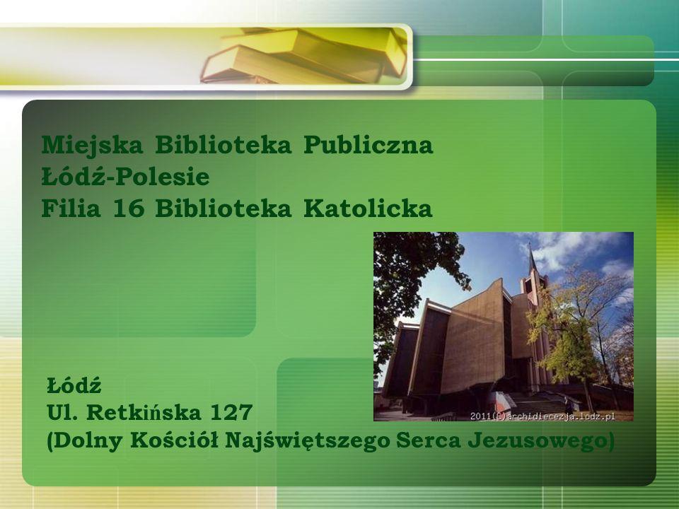Miejska Biblioteka Publiczna Łódź-Polesie