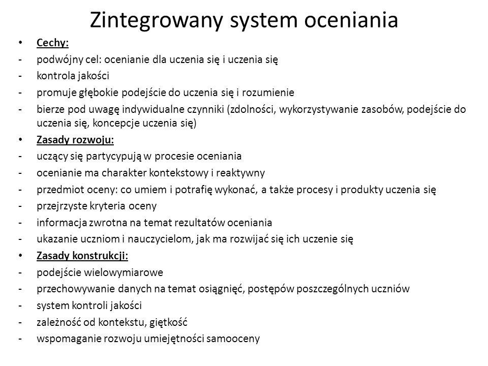 Zintegrowany system oceniania