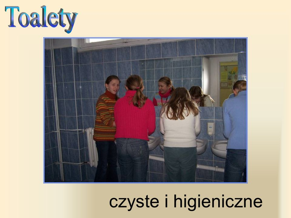 Toalety czyste i higieniczne