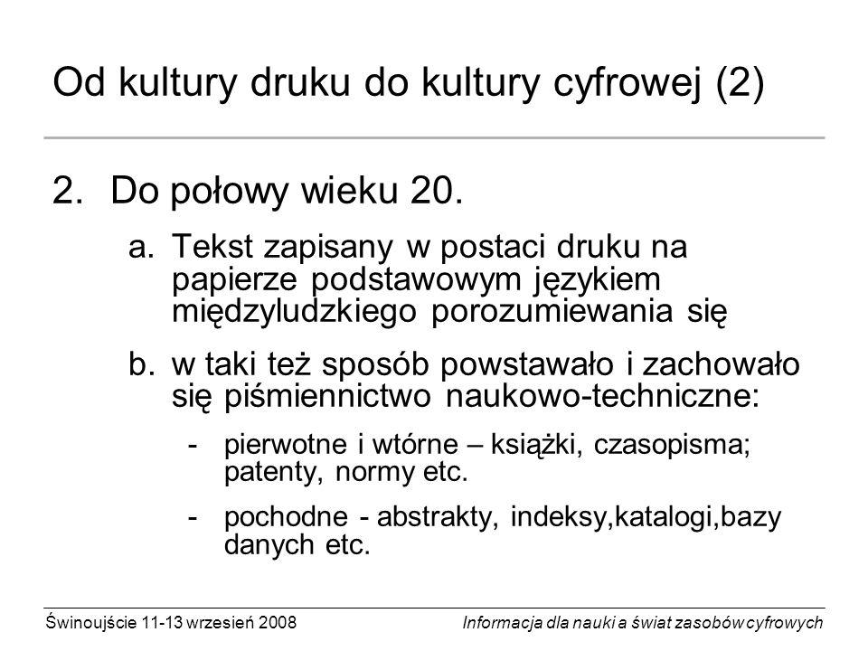 Od kultury druku do kultury cyfrowej (2)