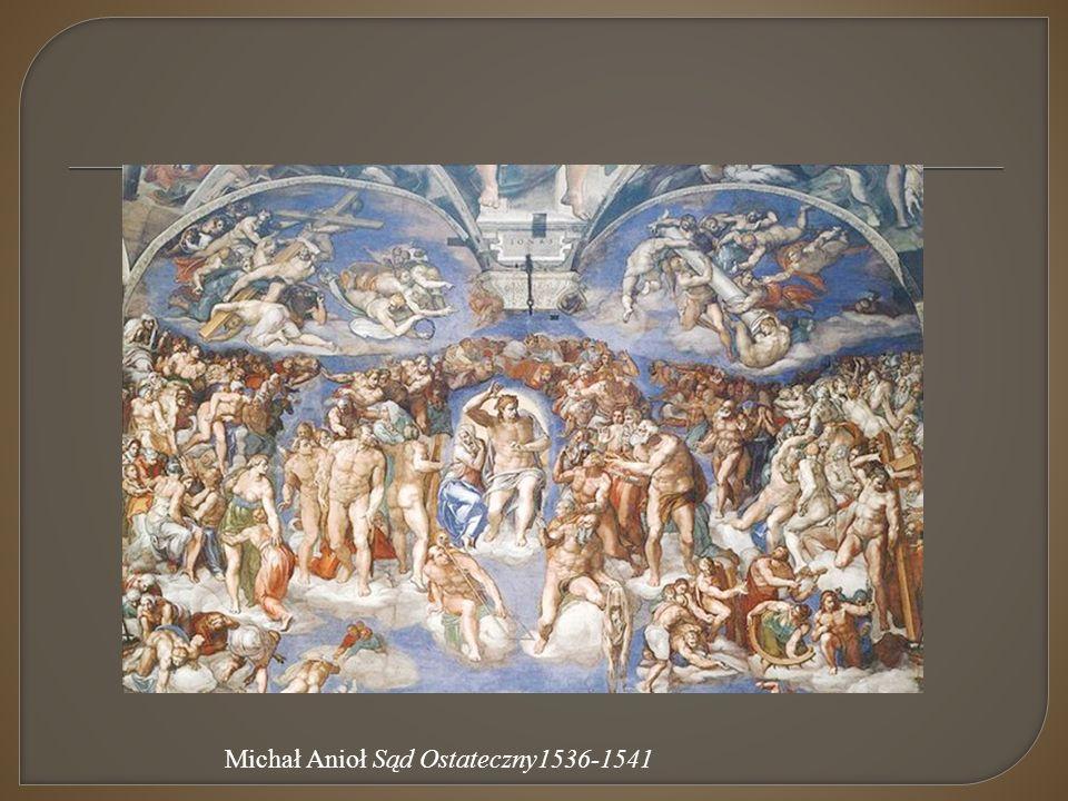 Michał Anioł Sąd Ostateczny1536-1541