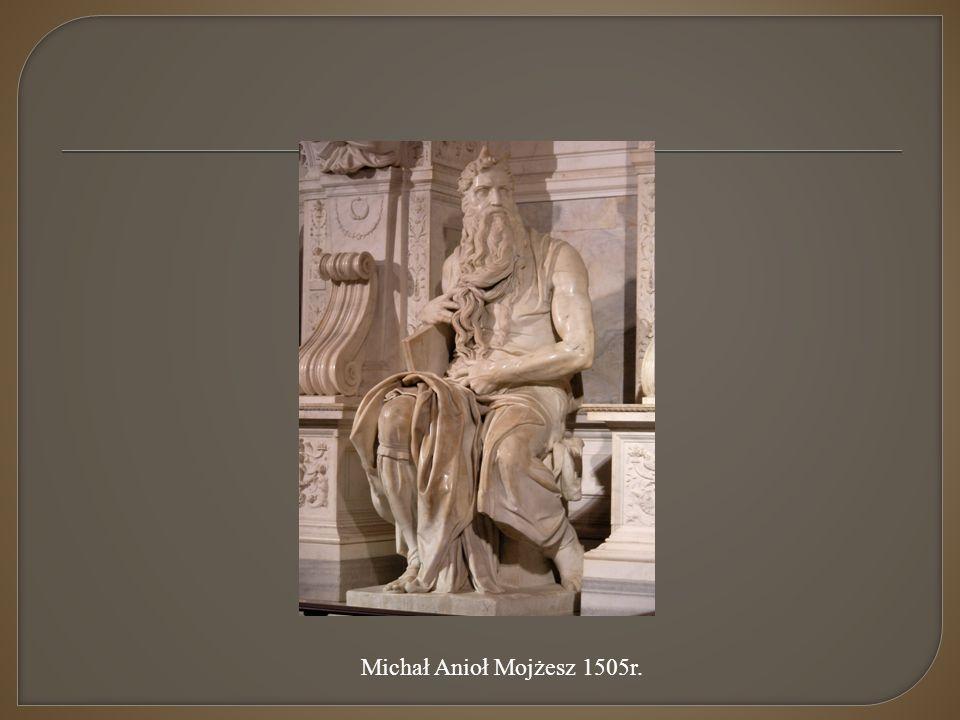 Michał Anioł Mojżesz 1505r.