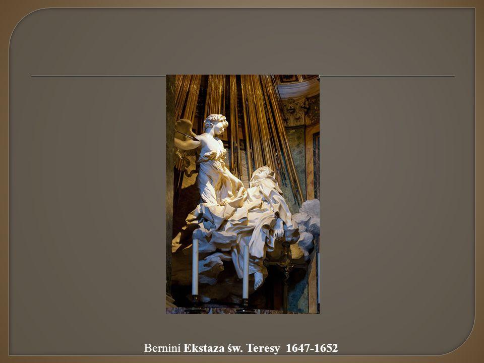 Bernini Ekstaza św. Teresy 1647-1652