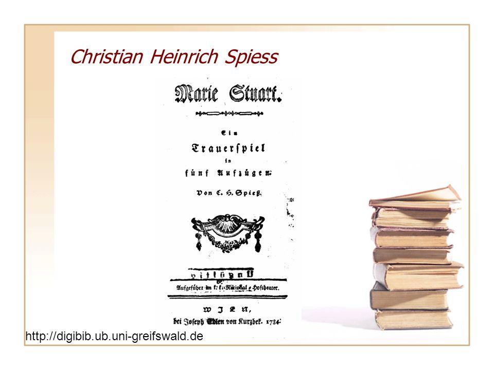 Christian Heinrich Spiess
