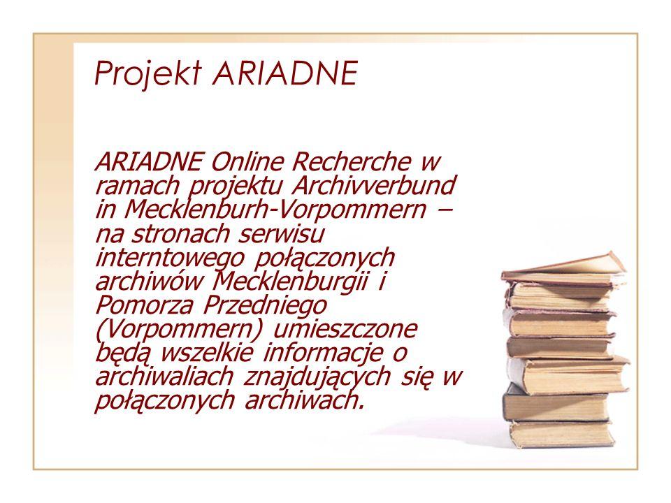 Projekt ARIADNE