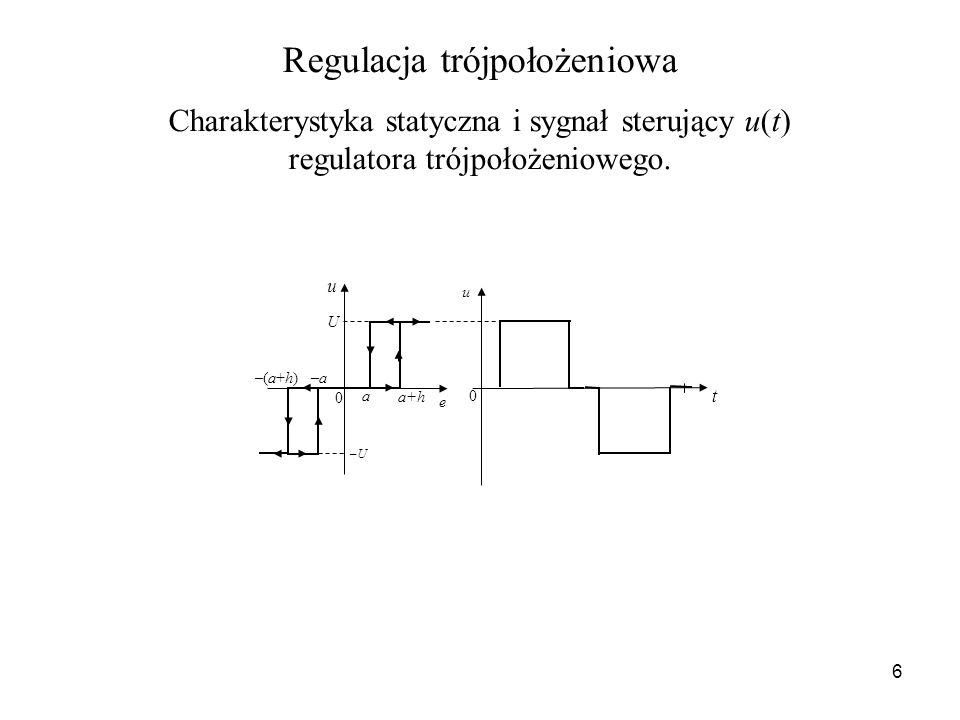 Regulacja trójpołożeniowa