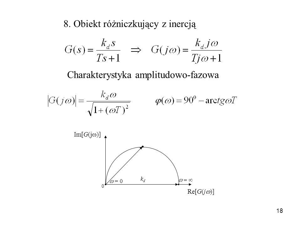 8. Obiekt różniczkujący z inercją