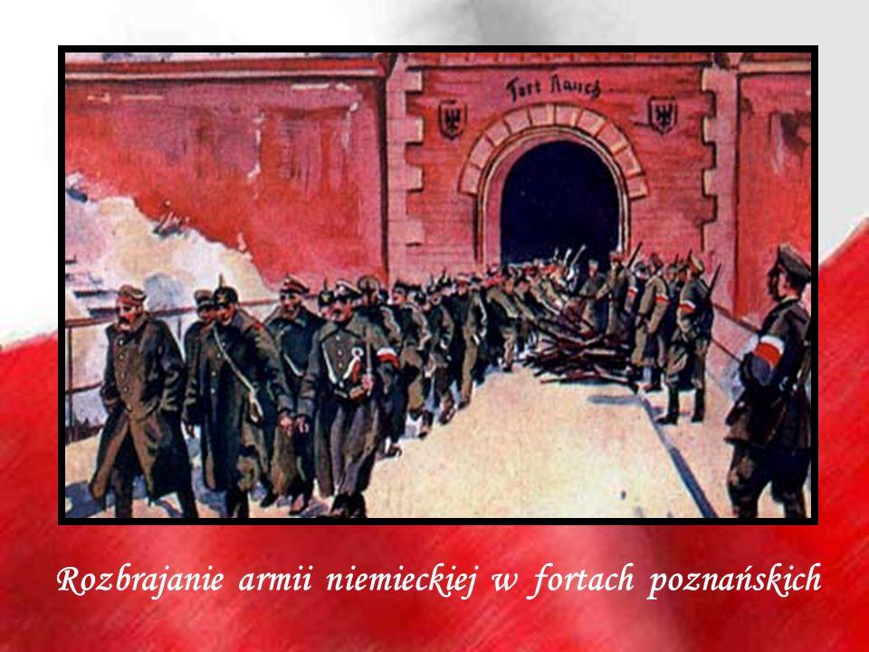 Rozbrajanie armii niemieckiej w fortach poznańskich