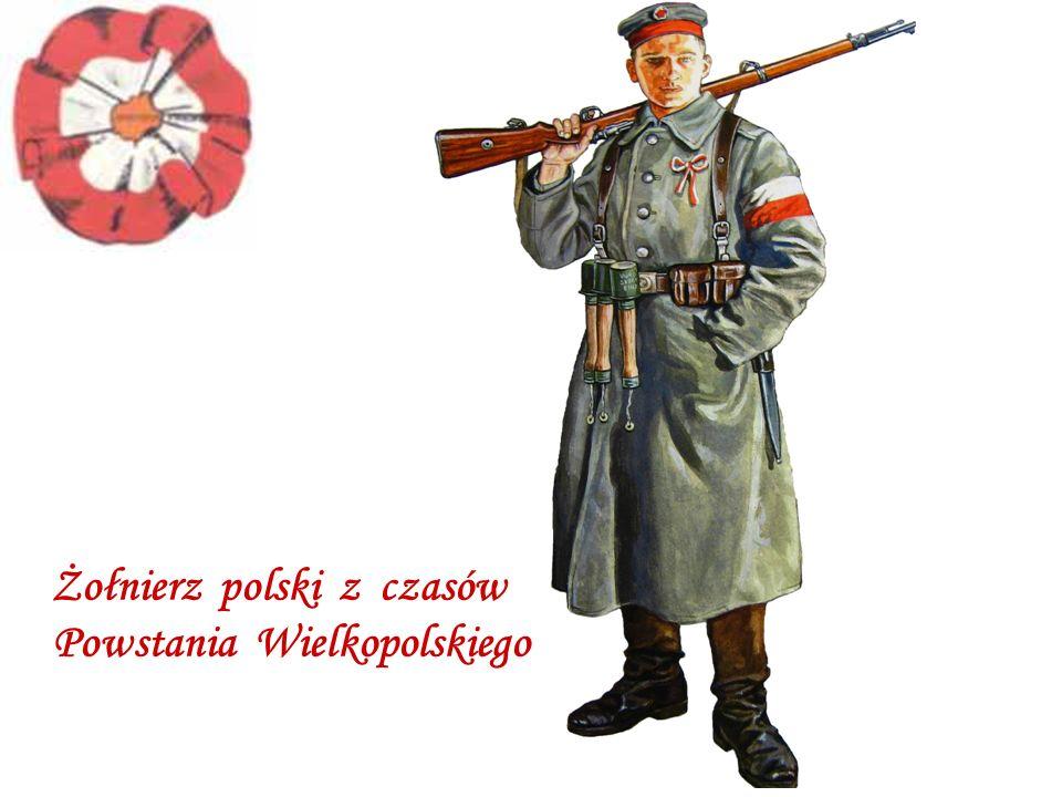 Żołnierz polski z czasów Powstania Wielkopolskiego