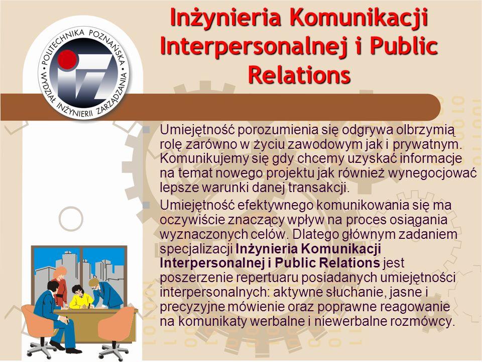Inżynieria Komunikacji Interpersonalnej i Public Relations