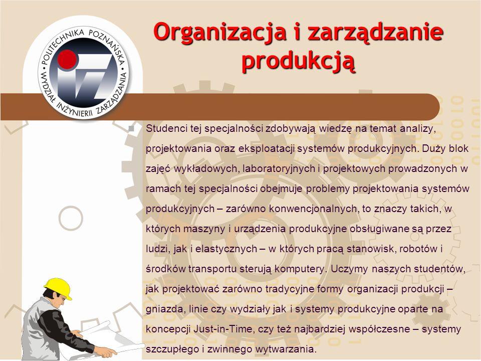 Organizacja i zarządzanie produkcją