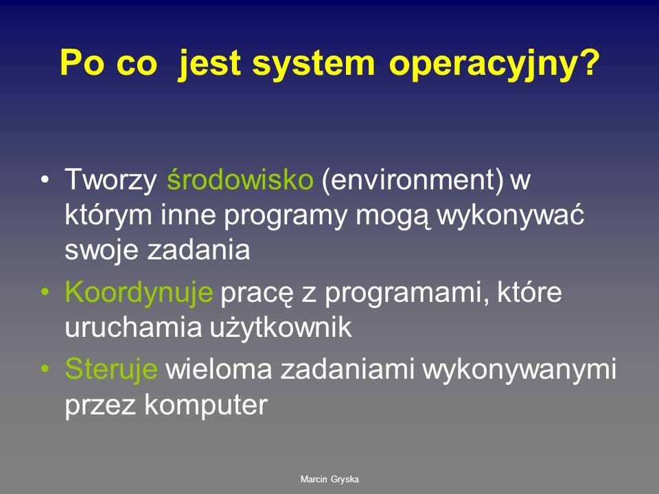 Po co jest system operacyjny