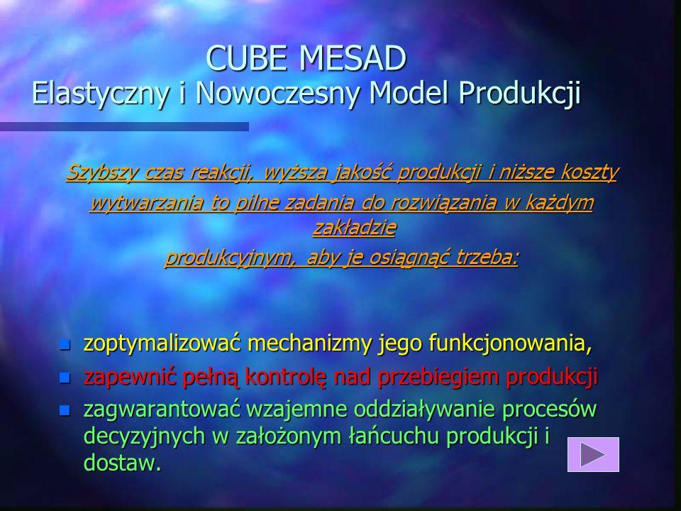 CUBE MESAD Elastyczny i Nowoczesny Model Produkcji