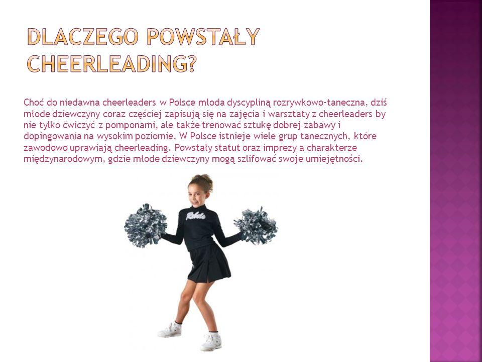 Dlaczego powstały cheerleading