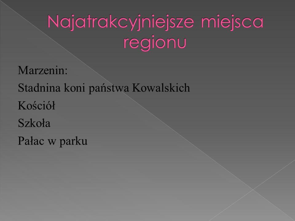 Najatrakcyjniejsze miejsca regionu