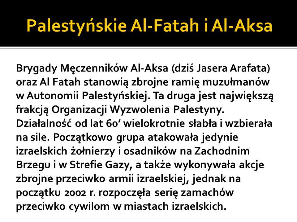 Palestyńskie Al-Fatah i Al-Aksa
