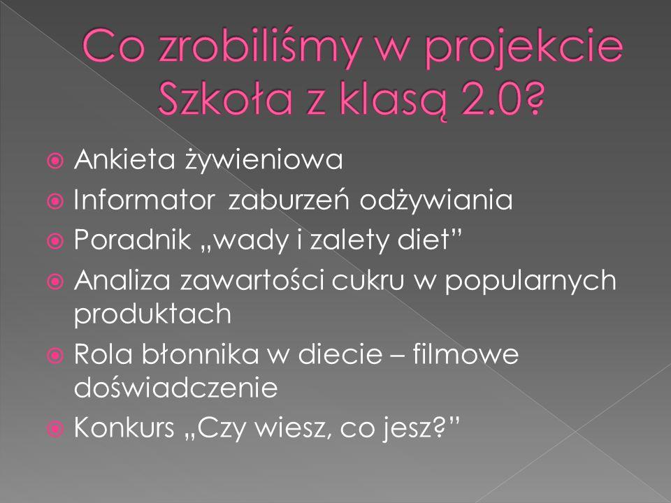Co zrobiliśmy w projekcie Szkoła z klasą 2.0