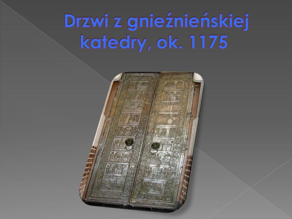Drzwi z gnieźnieńskiej katedry, ok. 1175
