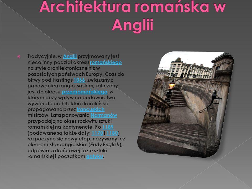 Architektura romańska w Anglii