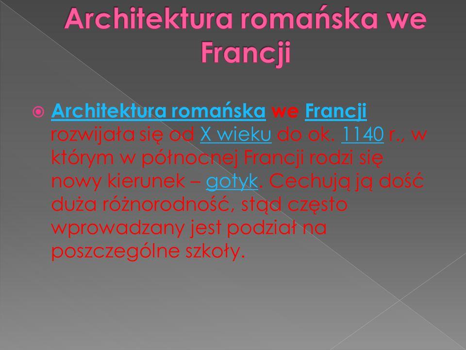 Architektura romańska we Francji