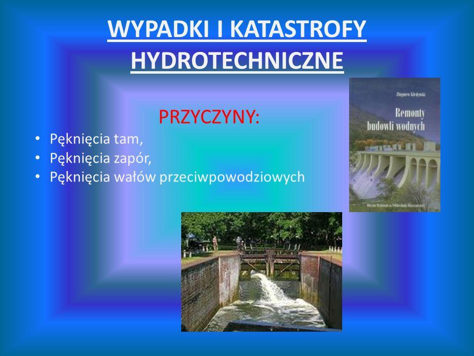 WYPADKI I KATASTROFY HYDROTECHNICZNE