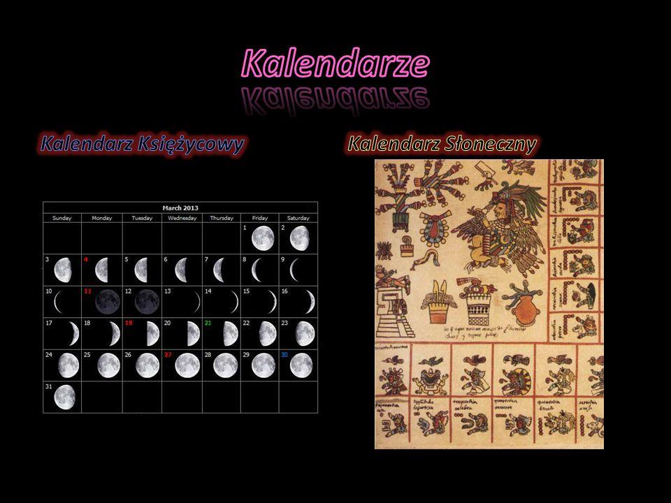 Kalendarze Kalendarz Księżycowy Kalendarz Słoneczny