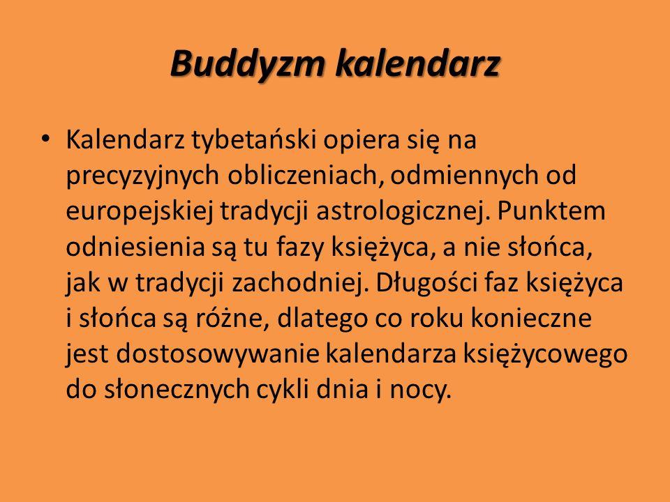 Buddyzm kalendarz