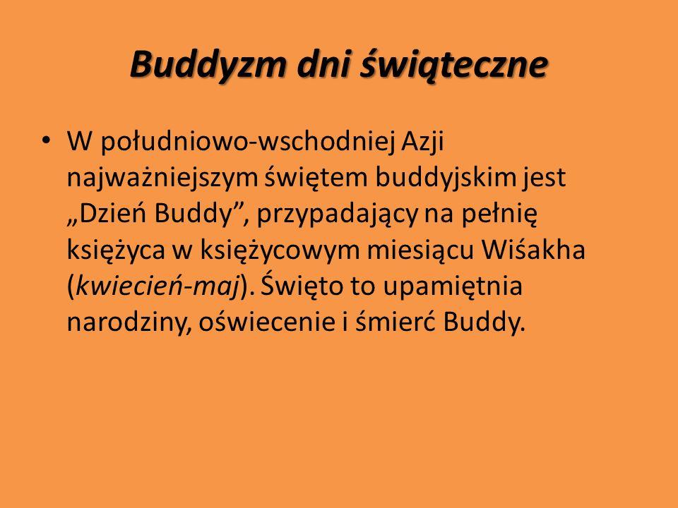 Buddyzm dni świąteczne