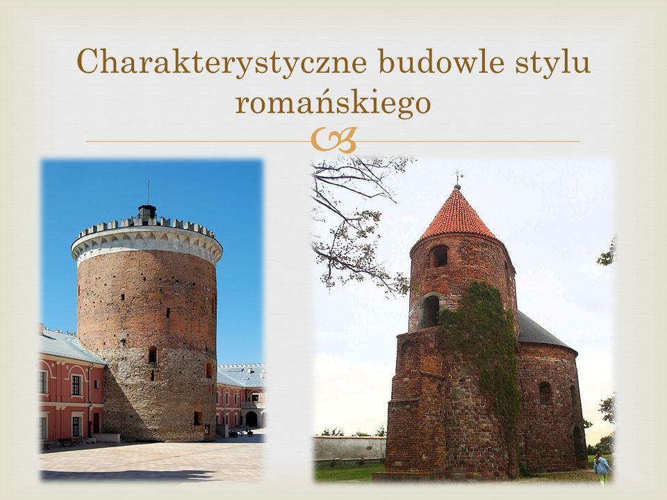 Charakterystyczne budowle stylu romańskiego