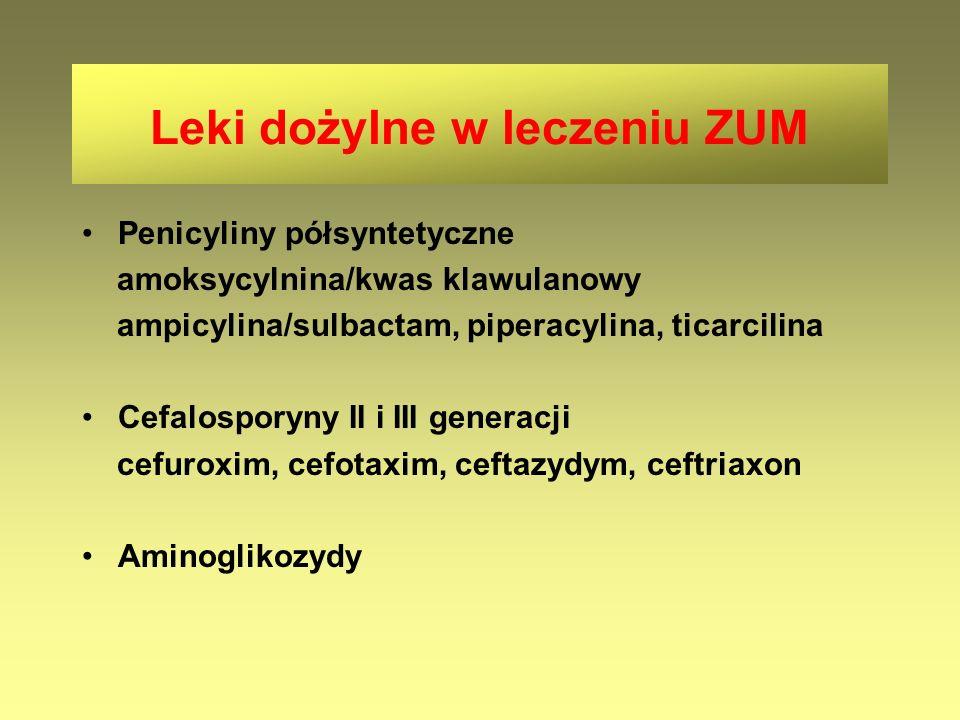 Leki dożylne w leczeniu ZUM