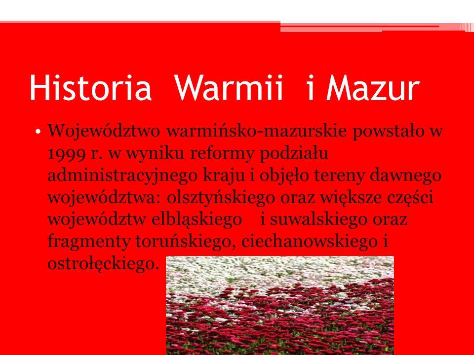 Historia Warmii i Mazur