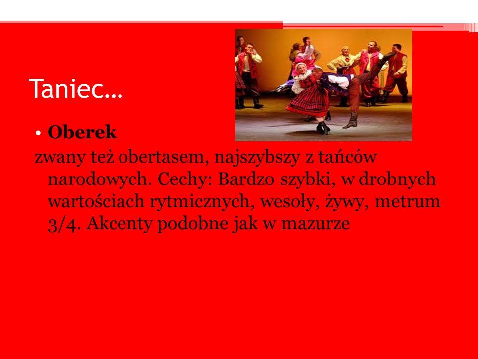Taniec… Oberek.