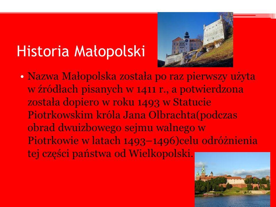 Historia Małopolski