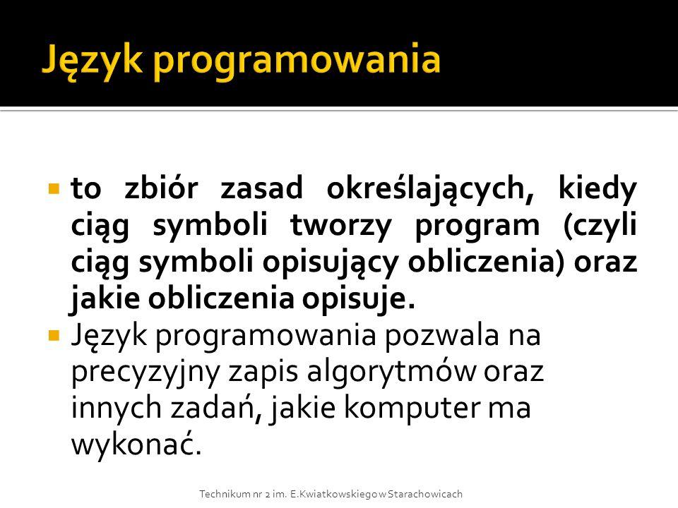 Język programowania