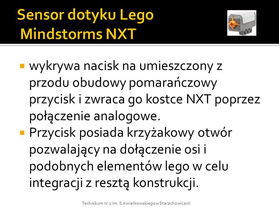 Sensor dotyku Lego Mindstorms NXT