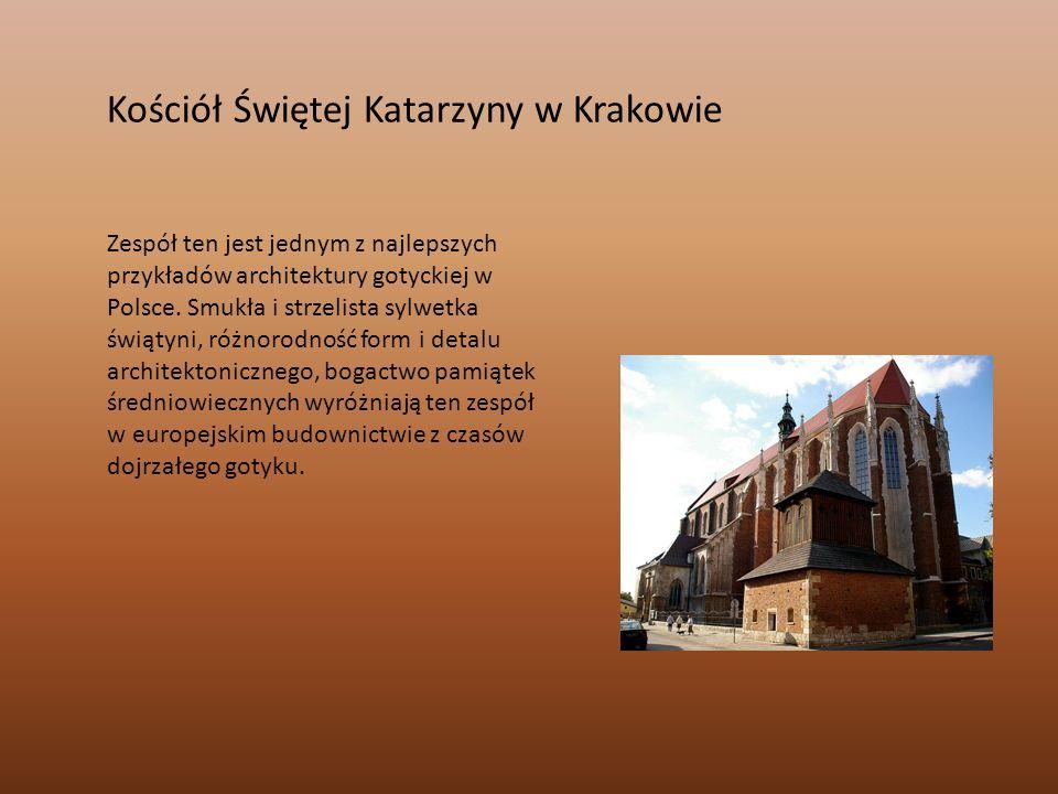 Kościół Świętej Katarzyny w Krakowie