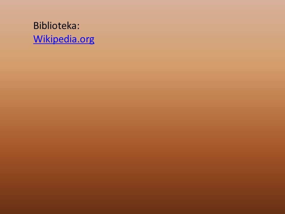 Biblioteka: Wikipedia.org