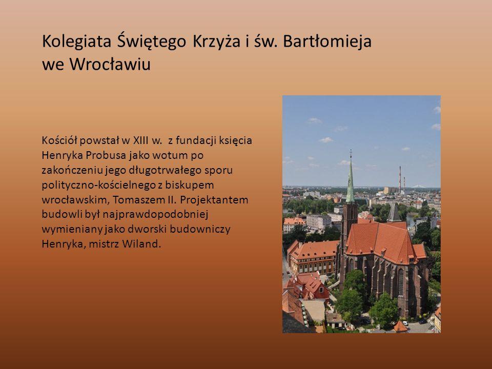 Kolegiata Świętego Krzyża i św. Bartłomieja we Wrocławiu